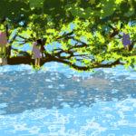 水に関する絵
